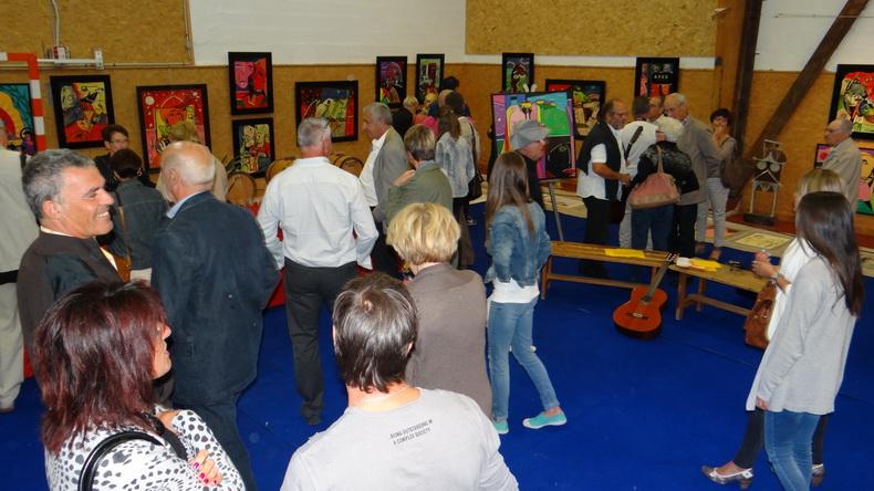 2015-08-01 : Exposition Fred Mazuir à Longchaumois (39) 146