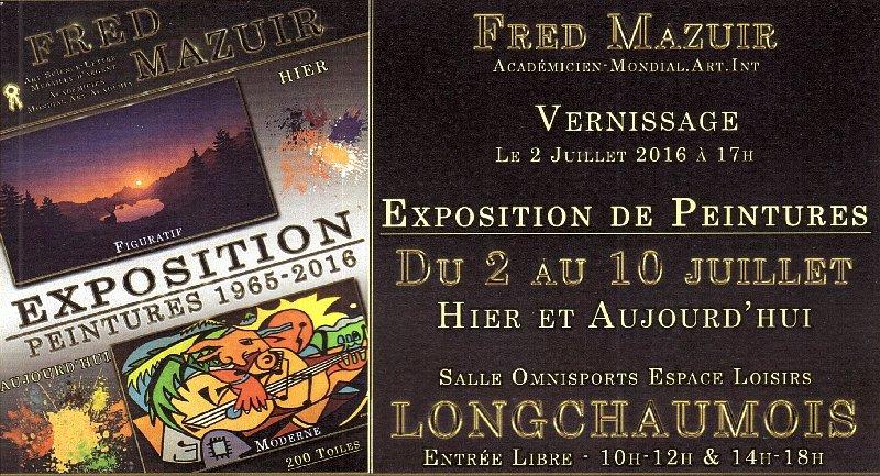2016-07-03 : Expo Fred Mazuir Longchaumois (39) 2016-07-03_FM_00