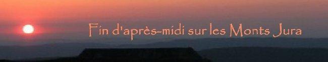 Fin d'après-midi sur les Monts Jura - 23 mai 2010 Logo