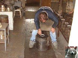 La Fonderie de cloches-Obertino - Labergement Ste Marie (25) 0019