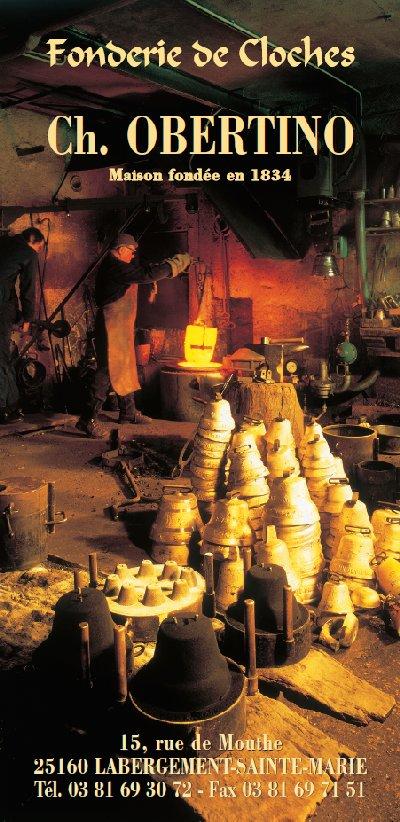 La Fonderie de cloches-Obertino - Labergement Ste Marie (25) 0040