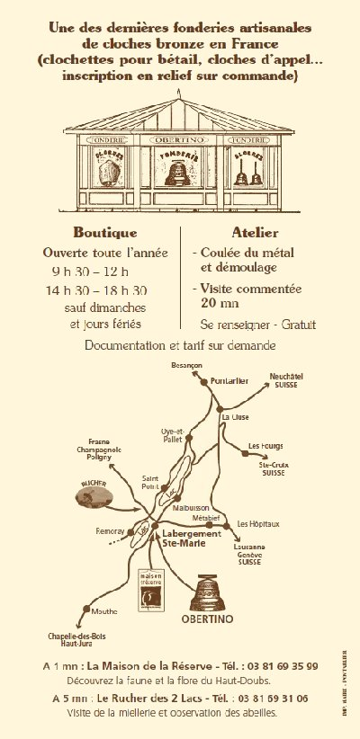 La Fonderie de cloches-Obertino - Labergement Ste Marie (25) 0041a