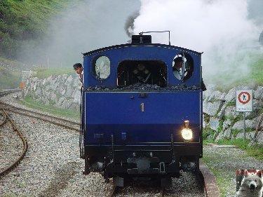 Entre Valais et Uri - La Furkabahn-Bergstrecke  0011