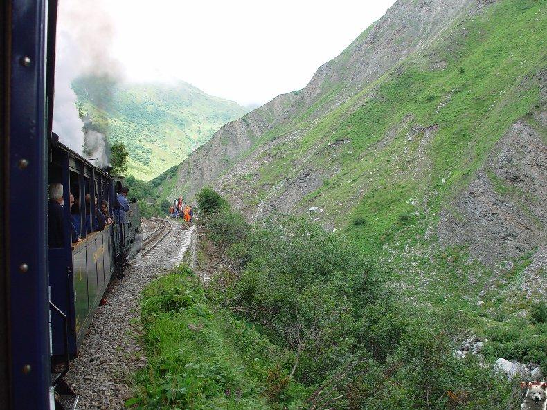 Entre Valais et Uri - La Furkabahn-Bergstrecke  0028