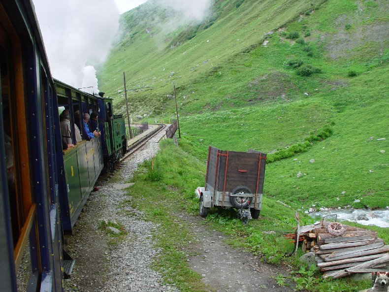 Entre Valais et Uri - La Furkabahn-Bergstrecke  0041
