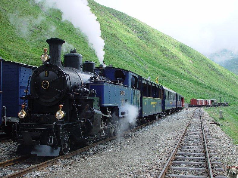 Entre Valais et Uri - La Furkabahn-Bergstrecke  0047