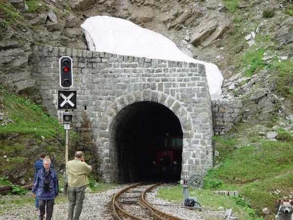 Entre Valais et Uri - La Furkabahn-Bergstrecke  0051