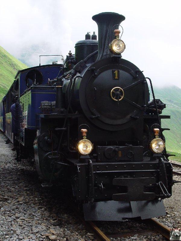 Entre Valais et Uri - La Furkabahn-Bergstrecke  0052