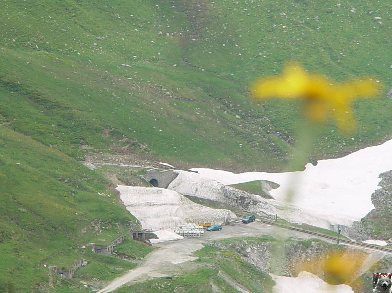 Entre Valais et Uri - La Furkabahn-Bergstrecke  0059