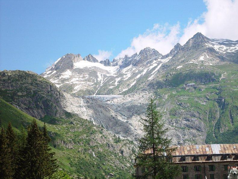 Entre Valais et Uri - La Furkabahn-Bergstrecke  0071