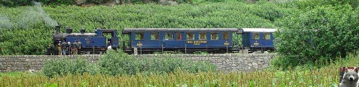 Entre Valais et Uri - La Furkabahn-Bergstrecke  0074
