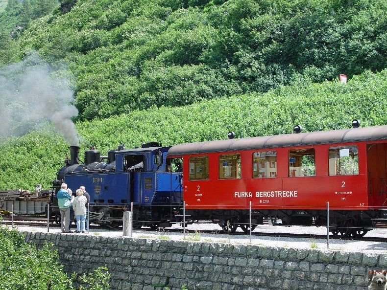 Entre Valais et Uri - La Furkabahn-Bergstrecke  0077