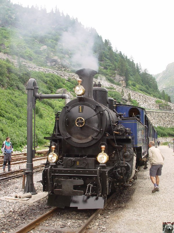 Entre Valais et Uri - La Furkabahn-Bergstrecke  0084