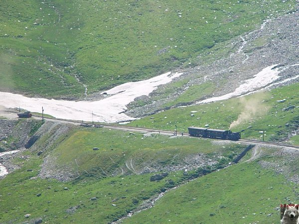 Entre Valais et Uri - La Furkabahn-Bergstrecke  0087