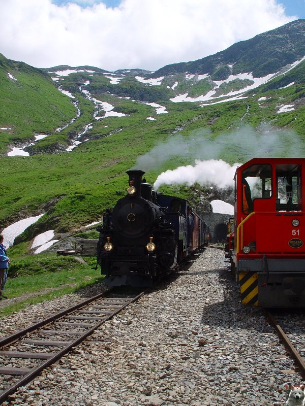 Entre Valais et Uri - La Furkabahn-Bergstrecke  0091