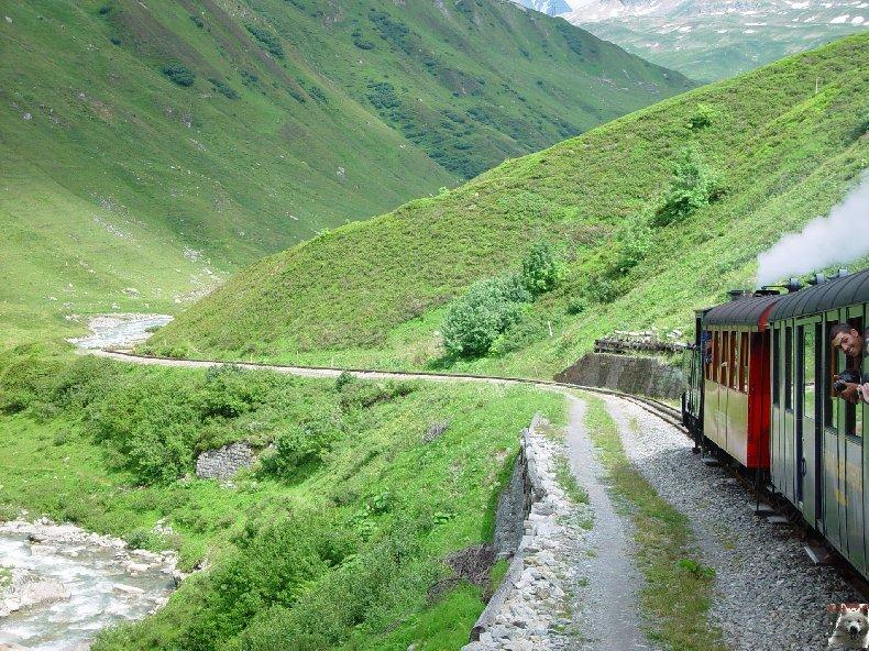 Entre Valais et Uri - La Furkabahn-Bergstrecke  0097