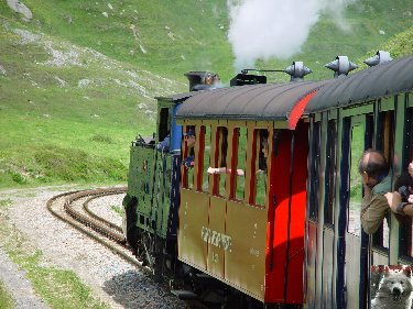 Entre Valais et Uri - La Furkabahn-Bergstrecke  0099