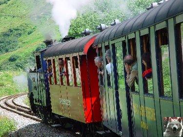 Entre Valais et Uri - La Furkabahn-Bergstrecke  0102