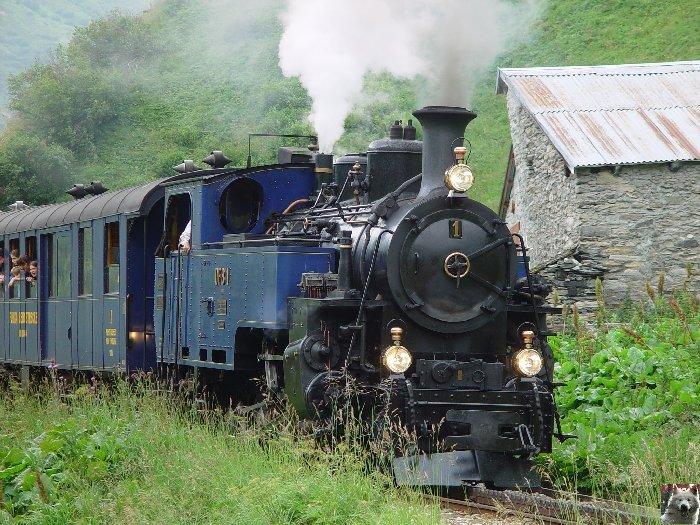 Entre Valais et Uri - La Furkabahn-Bergstrecke  0110