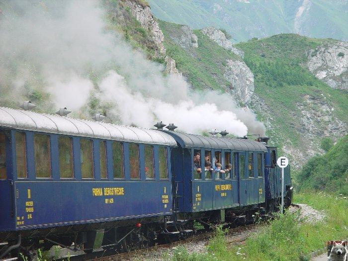 Entre Valais et Uri - La Furkabahn-Bergstrecke  0112