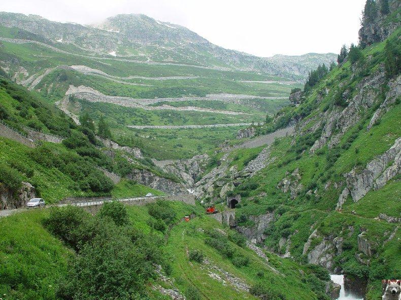 Entre Valais et Uri - La Furkabahn-Bergstrecke  0114