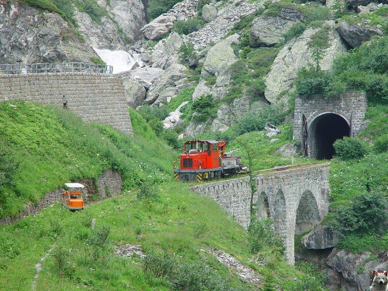 Entre Valais et Uri - La Furkabahn-Bergstrecke  0115