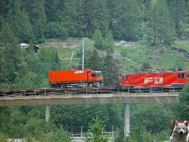 Entre Valais et Uri - La Furkabahn-Bergstrecke  0117