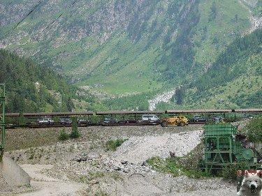 Entre Valais et Uri - La Furkabahn-Bergstrecke  0118