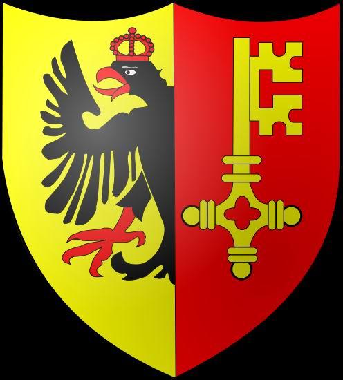 Trois hommes - une ville: Genève (GE) Blason