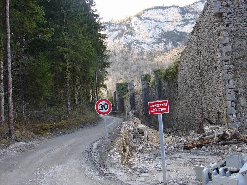Les Glacières de Sylans (01) - 3 Avril 2009 002