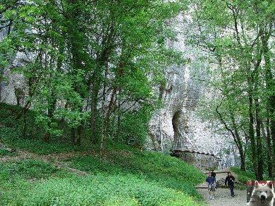 Les grottes de Baume les Messieurs (39) 0004