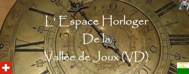 L'Espace Horloger - Le Sentier - VD - Suisse Logo