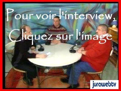 Interview de René JV par l'équipe de Jurawebtv.com - 1er janvier 2008 V1