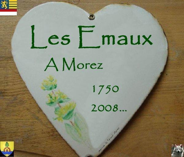 Les émaux à Morez - 13/06/2008/ Logo