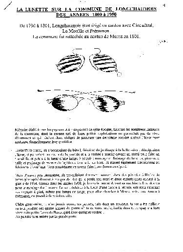 Luneterie de jadis - Longchaumois, de l'Etable à l'Etabli. 02_p