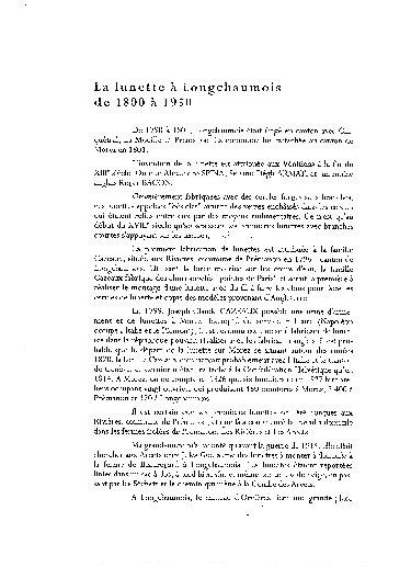 Luneterie de jadis - Longchaumois, de l'Etable à l'Etabli. 04_p