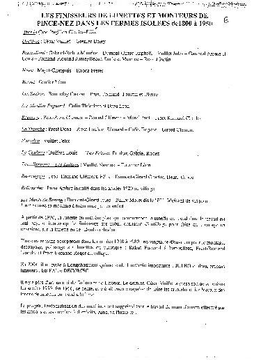 Luneterie de jadis - Longchaumois, de l'Etable à l'Etabli. 06_p