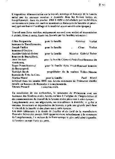 Luneterie de jadis - Longchaumois, de l'Etable à l'Etabli. 09_p
