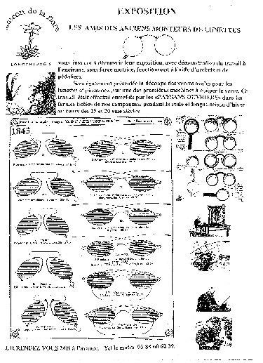 Luneterie de jadis - Longchaumois, de l'Etable à l'Etabli. 10_p