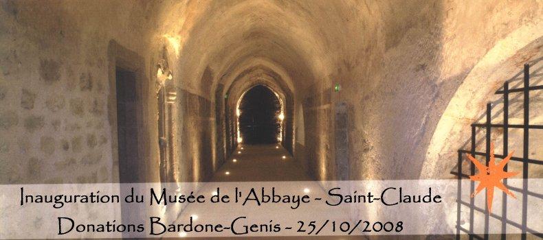 Inauguration du Musée de l'Abbaye à St-Claude A