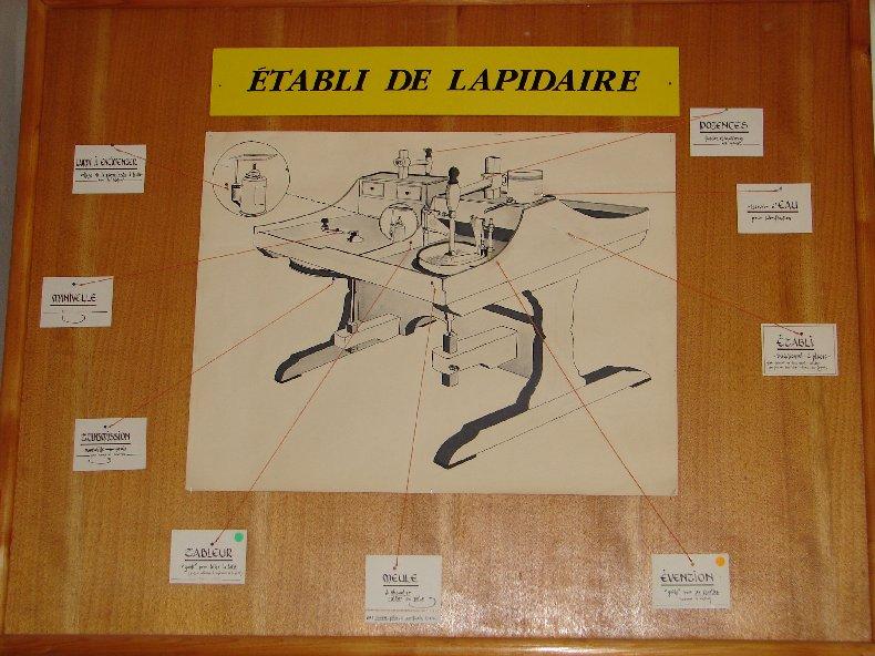 Le Musée du Lapidaire à Lamoura. (39) 0020