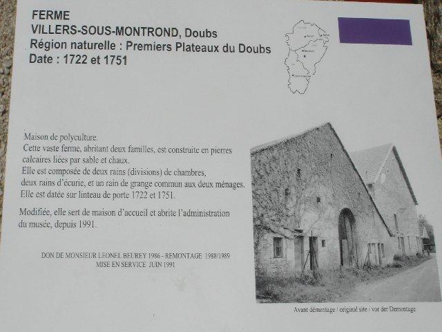 Musée de Plein Air des Maisons Comtoises - Nancray (25) 0001