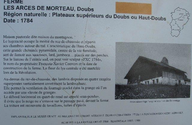 Musée de Plein Air des Maisons Comtoises - Nancray (25) 0061