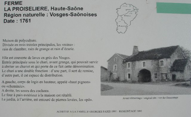 Musée de Plein Air des Maisons Comtoises - Nancray (25) 0101