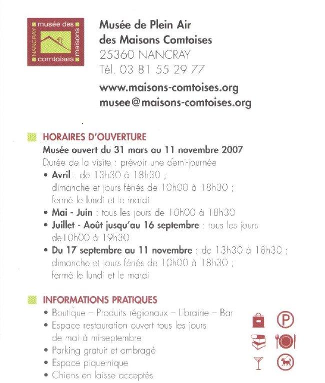 Musée de Plein Air des Maisons Comtoises - Nancray (25) 0140
