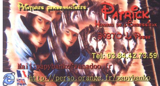 2007-08-16 : Patrick Verdier peint sur ardoise, sur peau, sur carrosserie ... 0028
