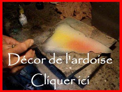 2007-08-16 : Patrick Verdier peint sur ardoise, sur peau, sur carrosserie ... V2