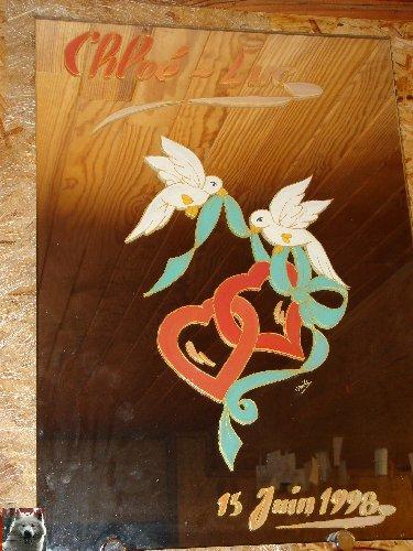 Valérie peint sur le verre - Ney (39) 10 juin 2008 0012