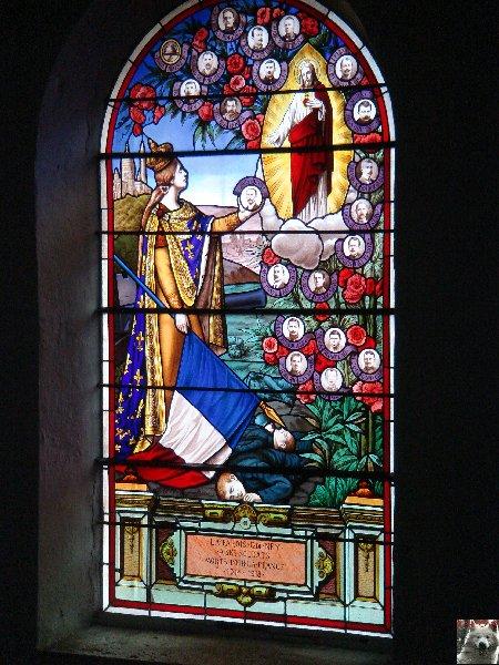 Valérie peint sur le verre - Ney (39) 10 juin 2008 0024