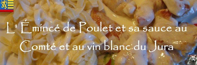 Emincé de poulet - Sauce au Comté et au blanc du Jura Logo